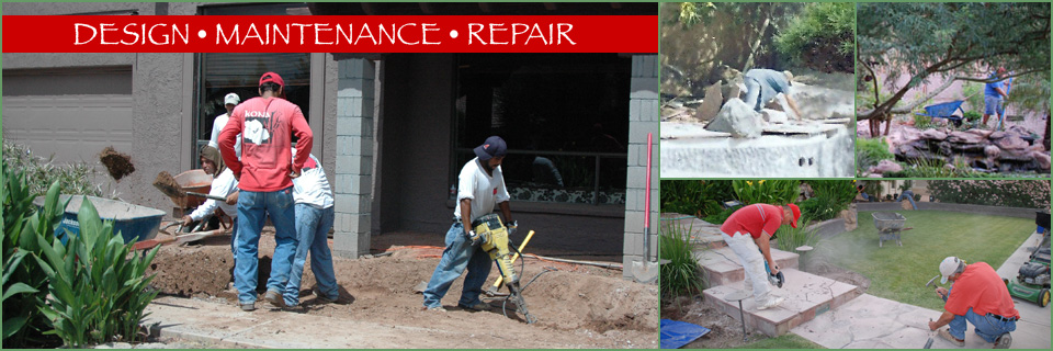 Landscaper, Landscape Maintenance Contractor