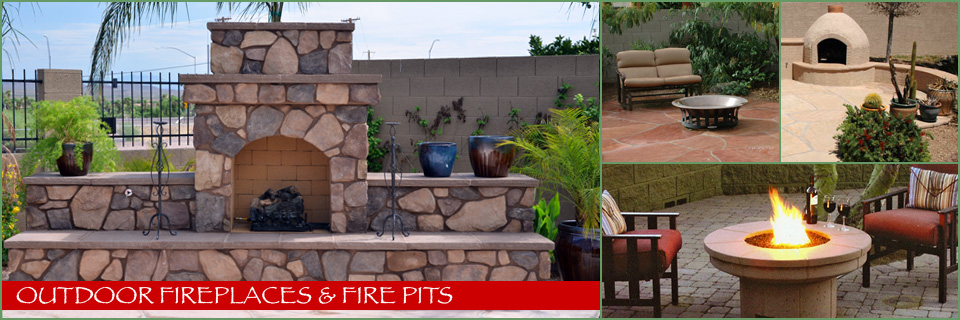 Tempe Outdoor Fireplaces And Fire Pits Design Build Installation