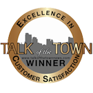 Talk of the Town News Customer Satisfaction Award 2012